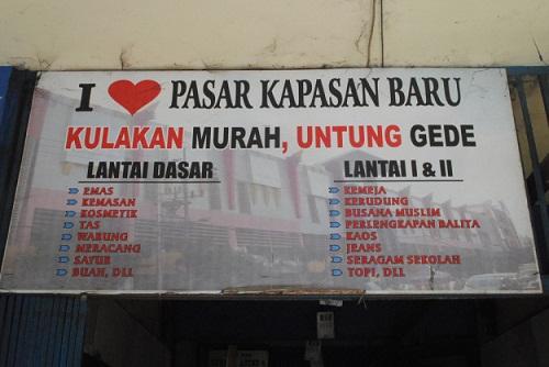 Grosir Baju Surabaya Kapasan