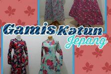 Distributor Kulakan Gamis Katun Jepang Syari Dewasa Murah Surabaya