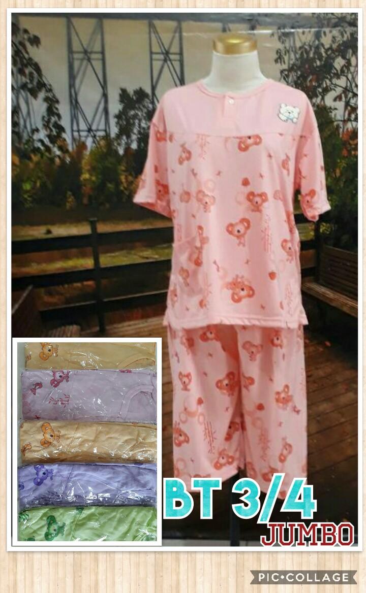 Obral Baju Anak Murah Surabaya Pusat Kulakan Baju Tidur Katun 3/4 Jumbo Dewasa Murah 28Ribu