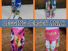 Pabrik Celana Legging Jersey Anak Karakter Murah Surabaya
