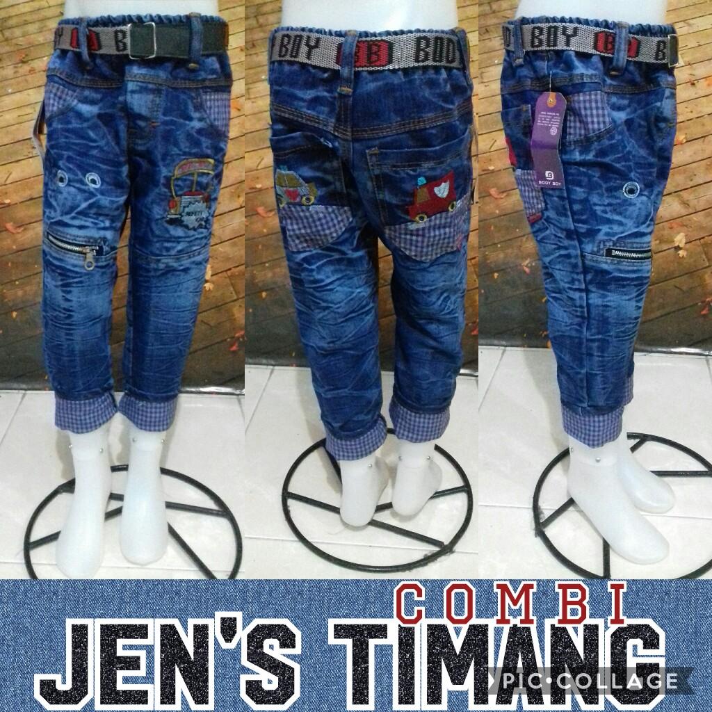 Obral Baju Anak Murah Surabaya Produsen Celana Jeans Timang Combi Anak Murah 45Ribu