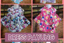 Distributor Dress Payung Anak Perempuan Murah