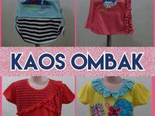 Produsen KAOS OMBAK Anak Perempuan Murah Surabaya