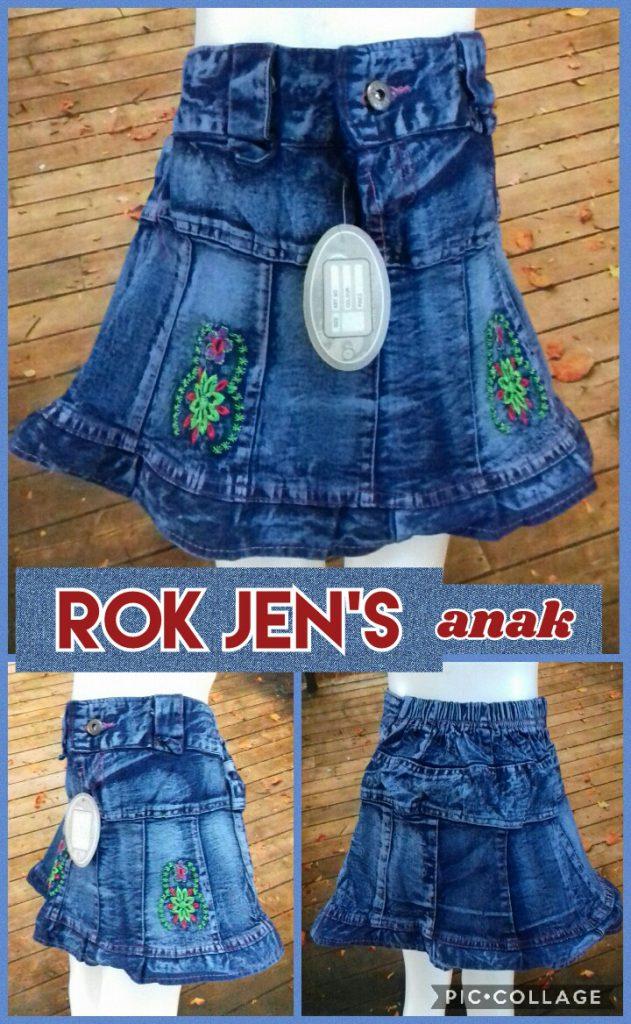 Produsen Rok Jeans Anak Perempuan Murah Surabaya