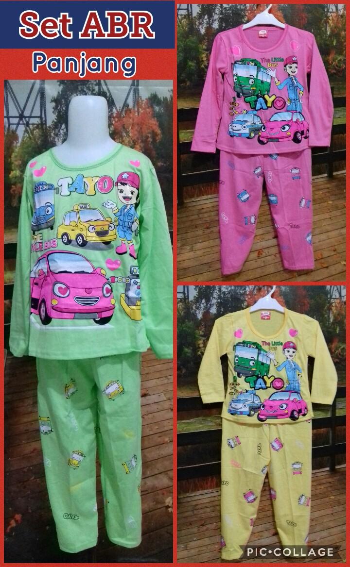 Pabrik Baju Anak Set ABR panjang Murah Surabaya 27ribuan