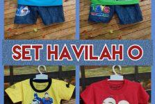 Supplier Baju Anak Set Havilah O Murah Surabaya 18ribuan
