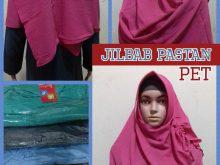 Produsen Jilbab Pastan Pet Dewasa Murah Surabaya 27 ribuan