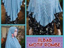 Pusat Kulakan Jilbab Motif Rombe Murah Surabaya 28 Ribuan