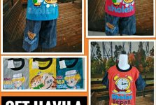 Distributor Set Havila Motif Islam Anak Murah 21ribuan