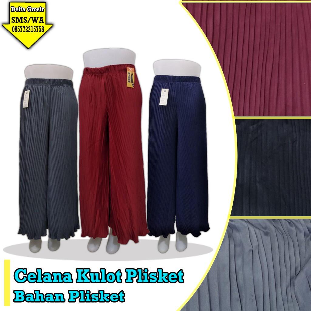 Obral Baju Anak Murah Surabaya Grosir Celana Kulot Plisket Murah 34ribuan