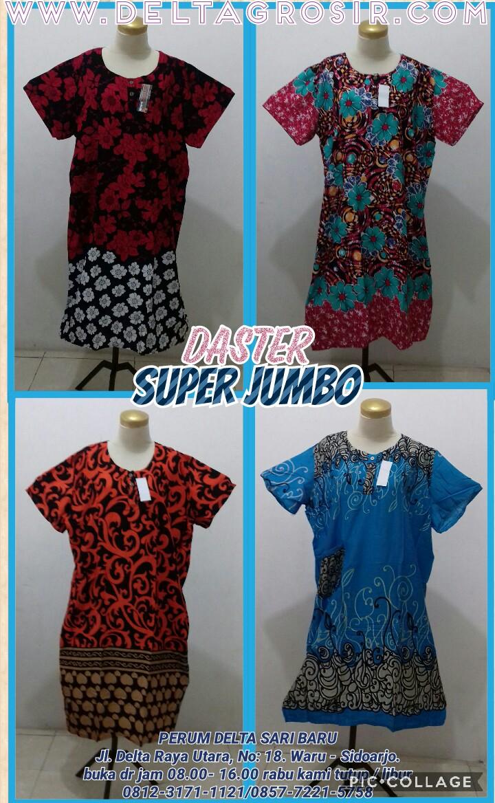 Obral Baju Anak Murah Surabaya Pusat Kulakan Daster Jumbo Super Dewasa Murah Rp.26.500