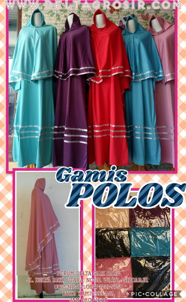 Obral Baju Anak Murah Surabaya Supplier Gamis Jersey Polos Syari Dewasa Murah Surabaya 64Ribu