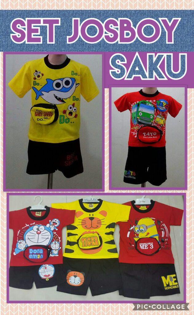 Grosir Baju Murah Surabaya,SMS/WA ORDER ke 0857-7221-5758 Distributor Setelan Josboy Saku Anak Laki Laki Murah Surabaya 23Ribu