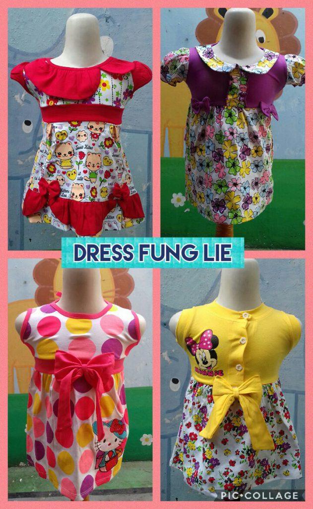 Grosir Baju Murah Surabaya,SMS/WA ORDER ke 0857-7221-5758 Kulakan Dress Fung Lie Anak Perempuan Murah Surabaya Mulai 24Ribu