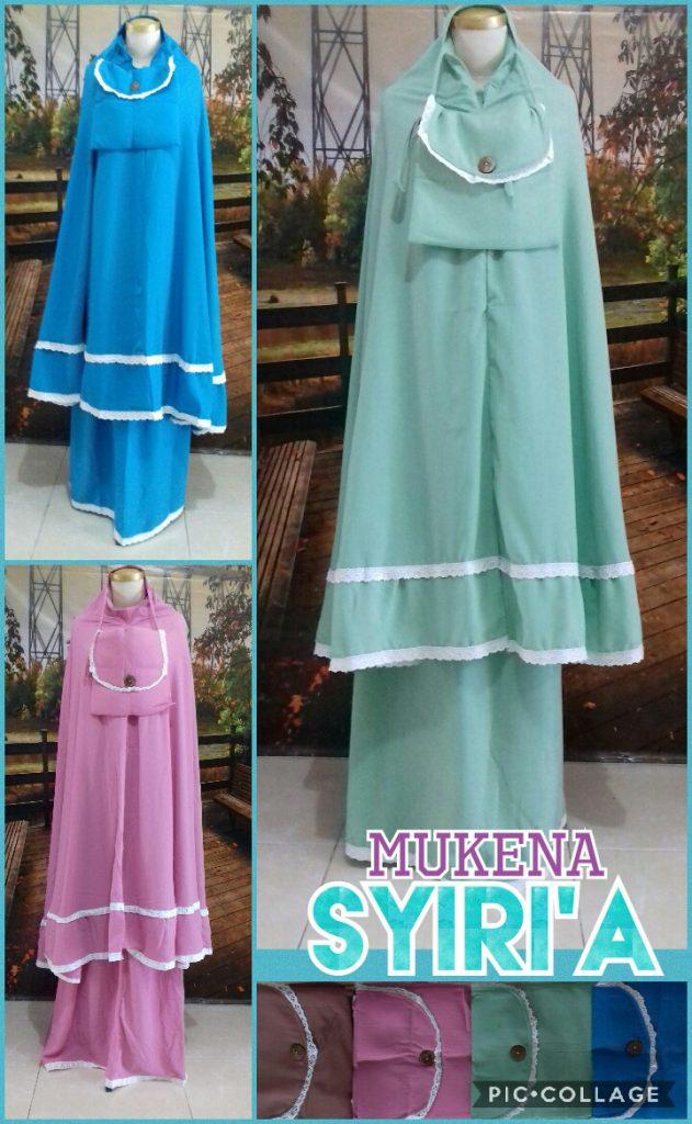 Grosir Baju Murah Surabaya,SMS/WA ORDER ke 0857-7221-5758 Agen Mukena Syiria Dewasa Terbaru Murah Surabaya 125Ribu