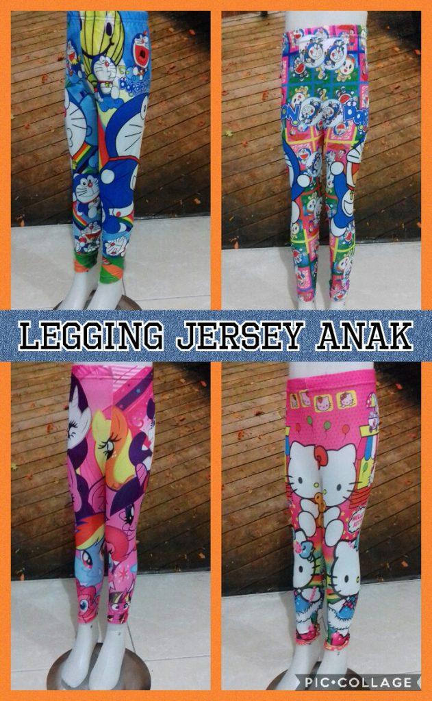 Obral Baju Anak Murah Surabaya Pabrik Celana Legging Jersey Anak Karakter Murah Surabaya 18Ribu