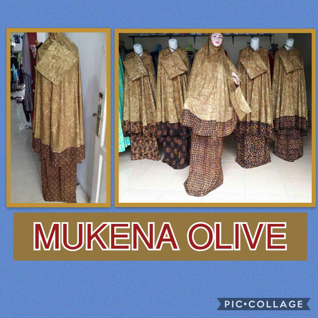 Grosir Baju Murah Surabaya,SMS/WA ORDER ke 0857-7221-5758 Supplier Mukena Olive Dewasa Murah 92ribuan