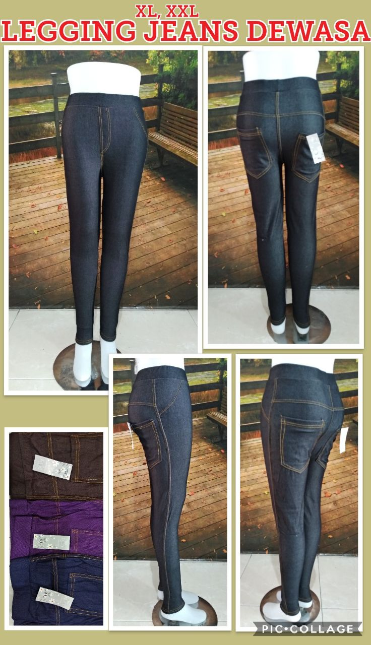 Obral Baju Anak Murah Surabaya Supplier Legging Jeans Dewasa Murah 28ribuan