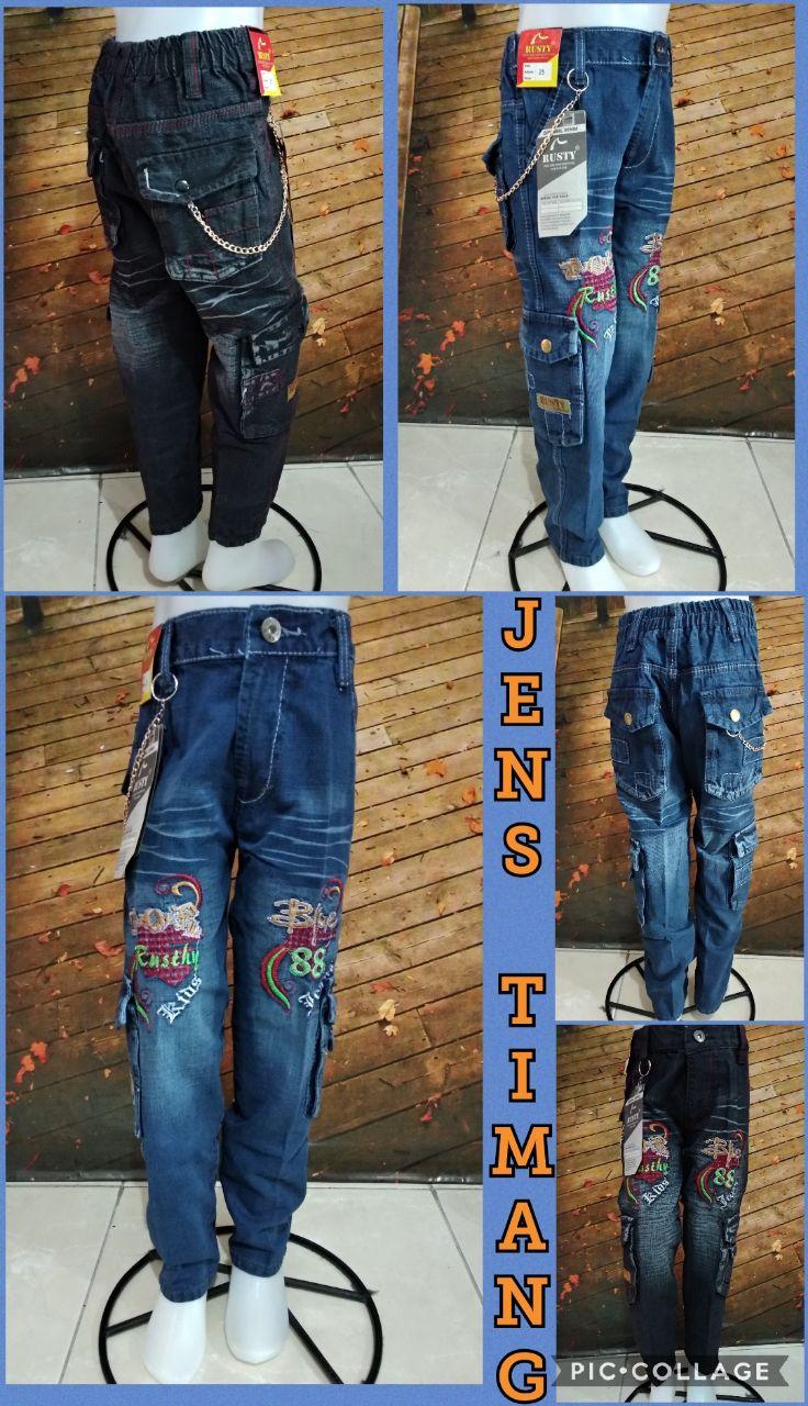Obral Baju Anak Murah Surabaya Konveksi Celana Jeans Anak Murah 45ribuan