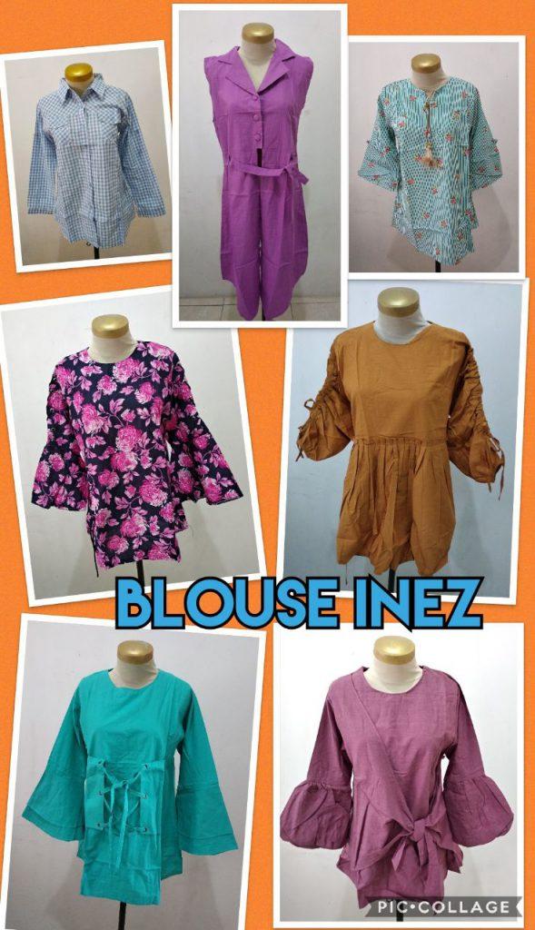 Obral Baju Anak Murah Surabaya Grosir Blouse Inez Murah 46ribuan