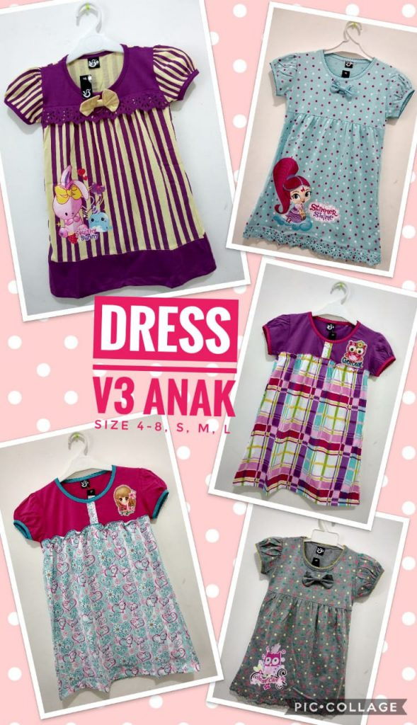 Grosir Baju Murah Surabaya,SMS/WA ORDER ke 0857-7221-5758 Produsen Dress Anak Terbaru Murah 28ribuan