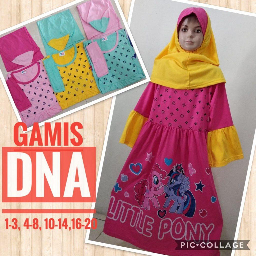 Obral Baju Anak Murah Surabaya Pabrik Gamis DNA Anak Murah 32ribuan