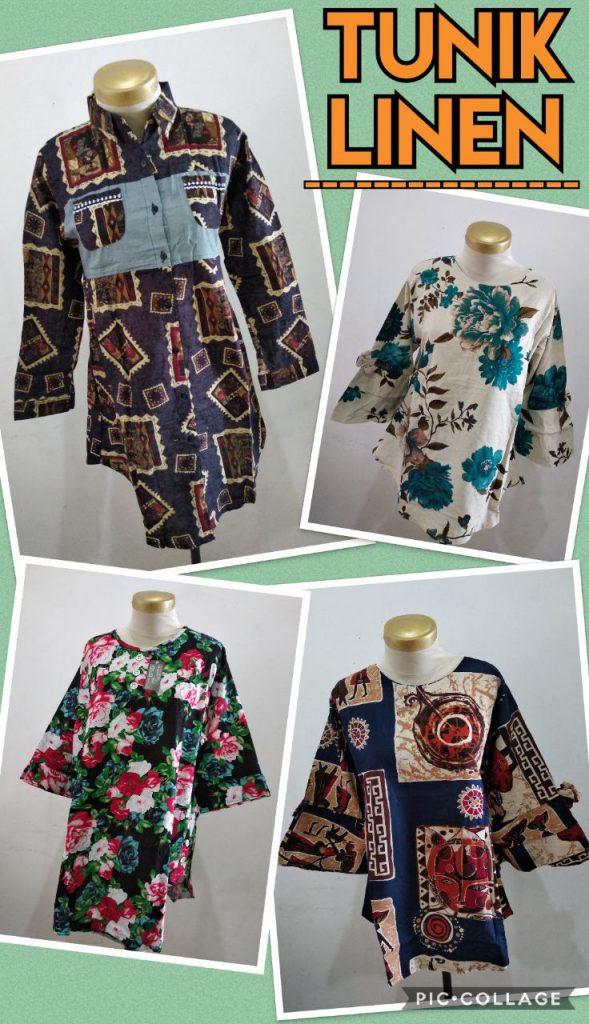 Obral Baju Anak Murah Surabaya Supplier Tunik Linen Dewasa Murah 50ribuan
