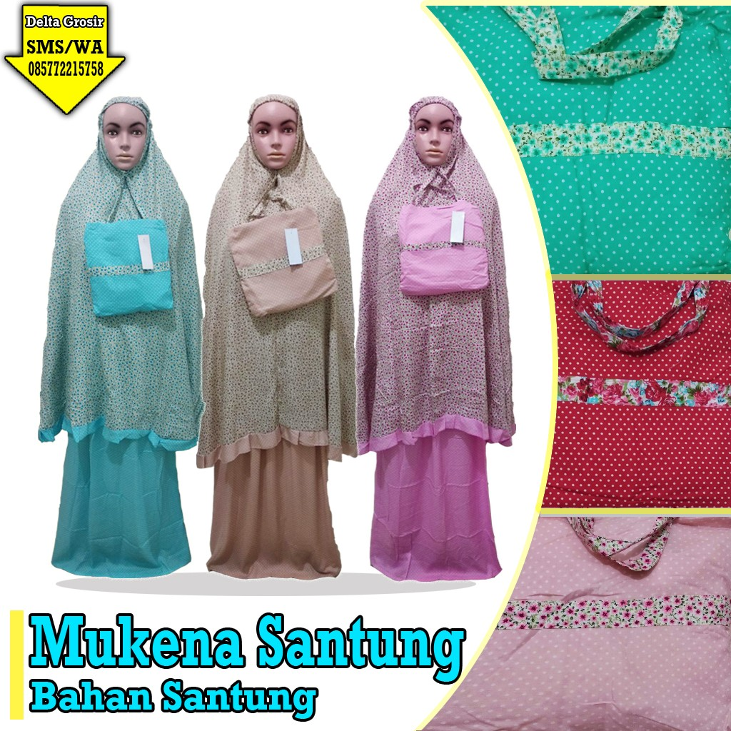 Obral Baju Anak Murah Surabaya | Grosir Baju Murah Surabaya Distributor Mukena Santung Murah 74ribuan