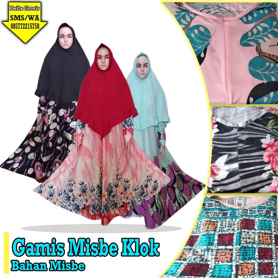 Obral Baju Anak Murah Surabaya | Grosir Baju Murah Surabaya Pabrik Gamis Misbi Klok Dewasa Murah di Surabaya