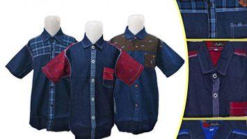 Obral Baju Anak Murah Surabaya Obral Kemeja Jeans Anak Murah di Surabaya