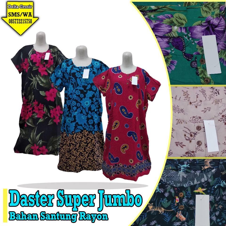 Grosir Baju Murah Surabaya,SMS/WA ORDER ke 0857-7221-5758 Grosir Daster Super Jumbo Murah di Surabaya