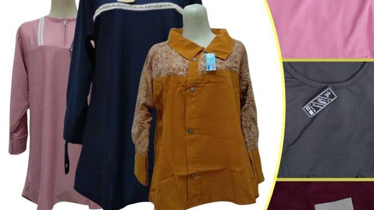 Obral Baju Anak Murah Surabaya Supplier Atasan Krep Dewasa Murah di Surabaya