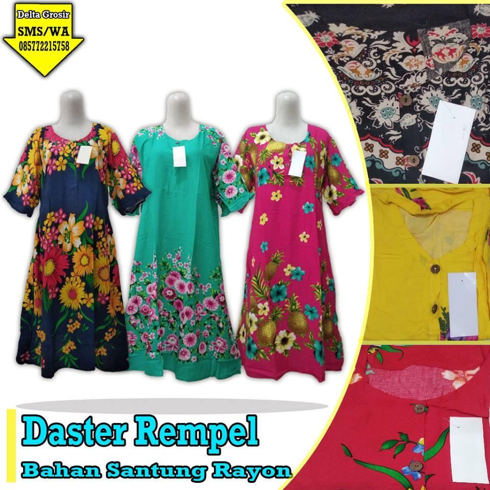 Grosir Baju Murah Surabaya,SMS/WA ORDER ke 0857-7221-5758 Produsen Daster Rempel Dewasa Murah di Surabaya