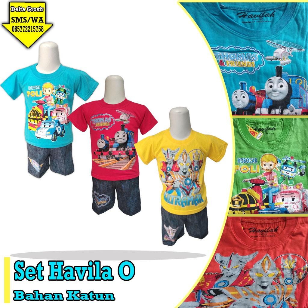 Grosir Baju Murah Surabaya,SMS/WA ORDER ke 0857-7221-5758 Distributor Setelan Havila Anak Murah di Surabaya