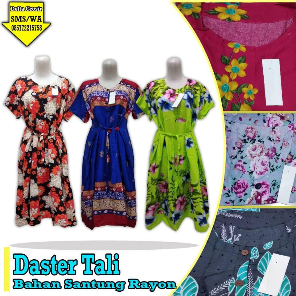 Grosir Baju Murah Surabaya,SMS/WA ORDER ke 0857-7221-5758 Pabrik Daster Tali Dewasa Murah di Surabaya