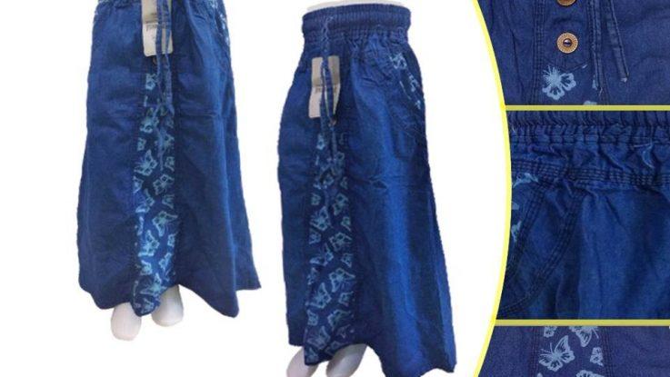Obral Baju Anak Murah Surabaya Konveksi Rok Jeans Tanggung Murah di Surabaya
