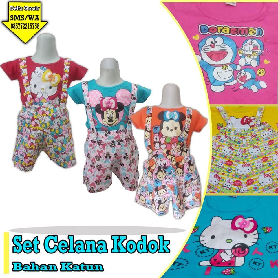 Grosir Baju Murah Surabaya,SMS/WA ORDER ke 0857-7221-5758 Supplier Setelan Celana Kodok Anak Murah di Surabaya